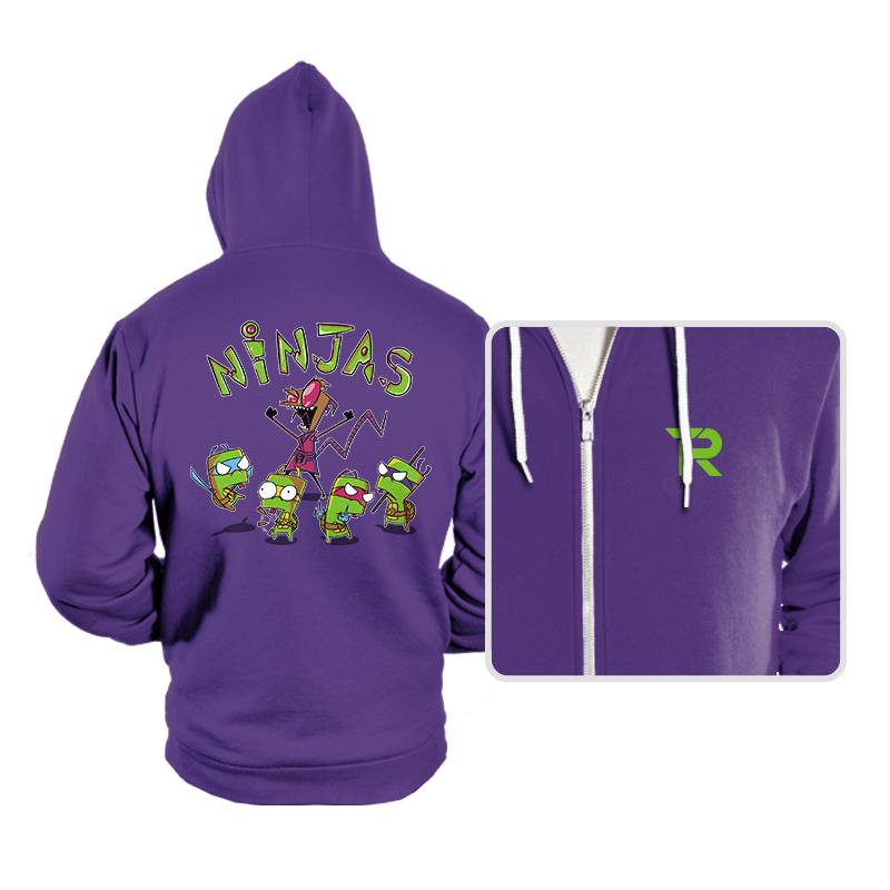 Invader Turtles - Hoodies - Hoodies - RIPT Apparel