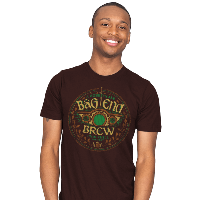 Bag End Brew - Crestfest - Mens - T-Shirts - RIPT Apparel