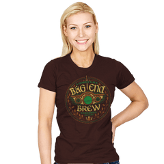 Bag End Brew - Crestfest - Womens - T-Shirts - RIPT Apparel