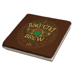 Bag End Brew - Crestfest - Coasters - Coasters - RIPT Apparel