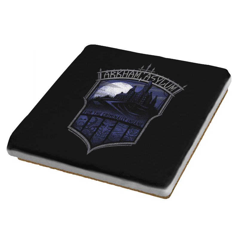Criminally Insane Asylum - Crestfest - Coasters - Coasters - RIPT Apparel