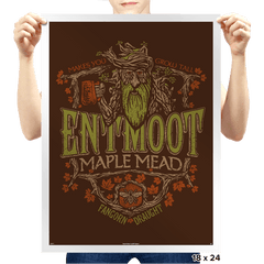 Entmoot Maple Stout - Crestfest - Prints - Posters - RIPT Apparel