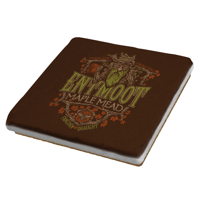 Entmoot Maple Stout - Crestfest - Coasters - Coasters - RIPT Apparel