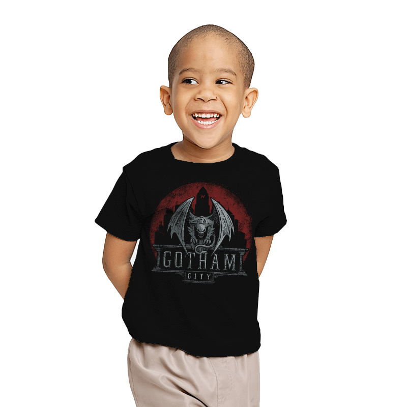Gargoyle of Gotham - Crestfest - Youth - T-Shirts - RIPT Apparel