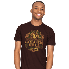 Golden Hall Pilsner - Crestfest - Mens - T-Shirts - RIPT Apparel