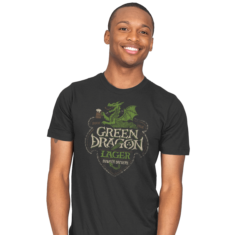 Green Dragon Lager - Crestfest - Mens - T-Shirts - RIPT Apparel