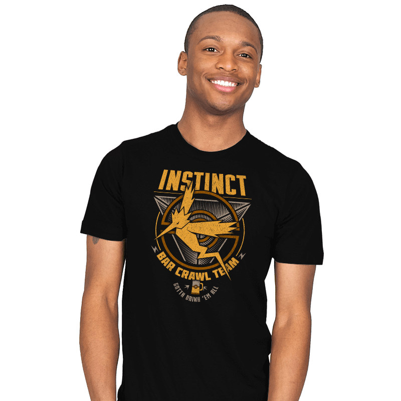 Instinct Bar Crawl - Crestfest - Mens - T-Shirts - RIPT Apparel
