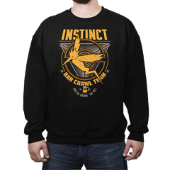 Instinct Bar Crawl - Crestfest - Crew Neck - Crew Neck Sweatshirt - RIPT Apparel