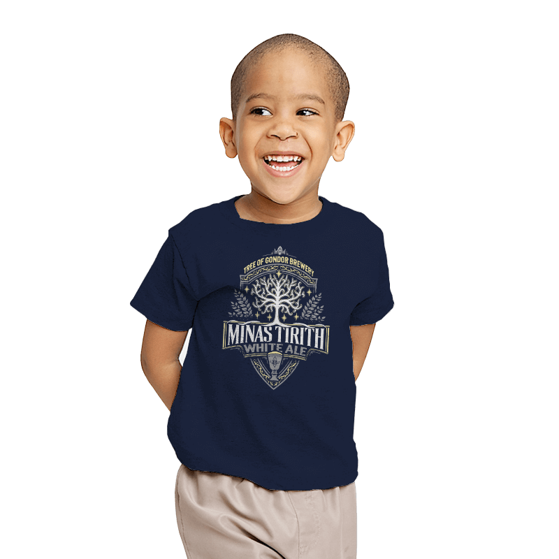 Minas Tirith - Crestfest - Youth - T-Shirts - RIPT Apparel