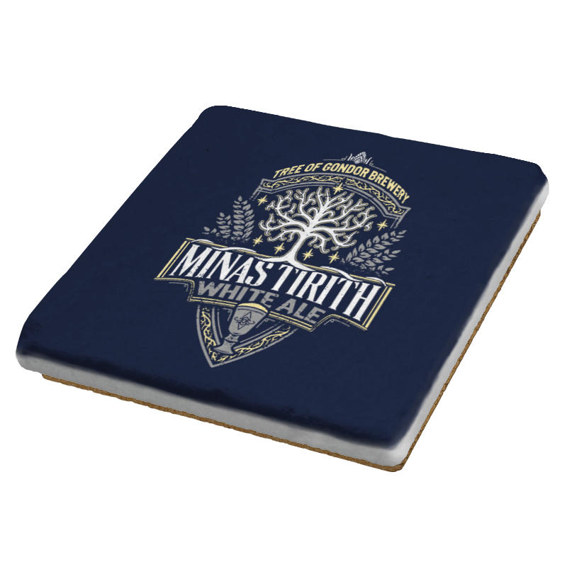 Minas Tirith - Crestfest - Coasters - Coasters - RIPT Apparel