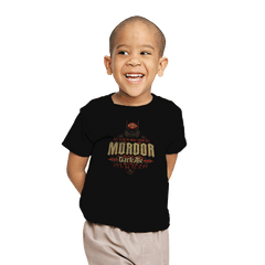 Mordor Dark Ale - Crestfest - Youth - T-Shirts - RIPT Apparel