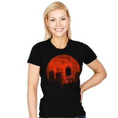 Ninja Moon - Crestfest - Womens - T-Shirts - RIPT Apparel