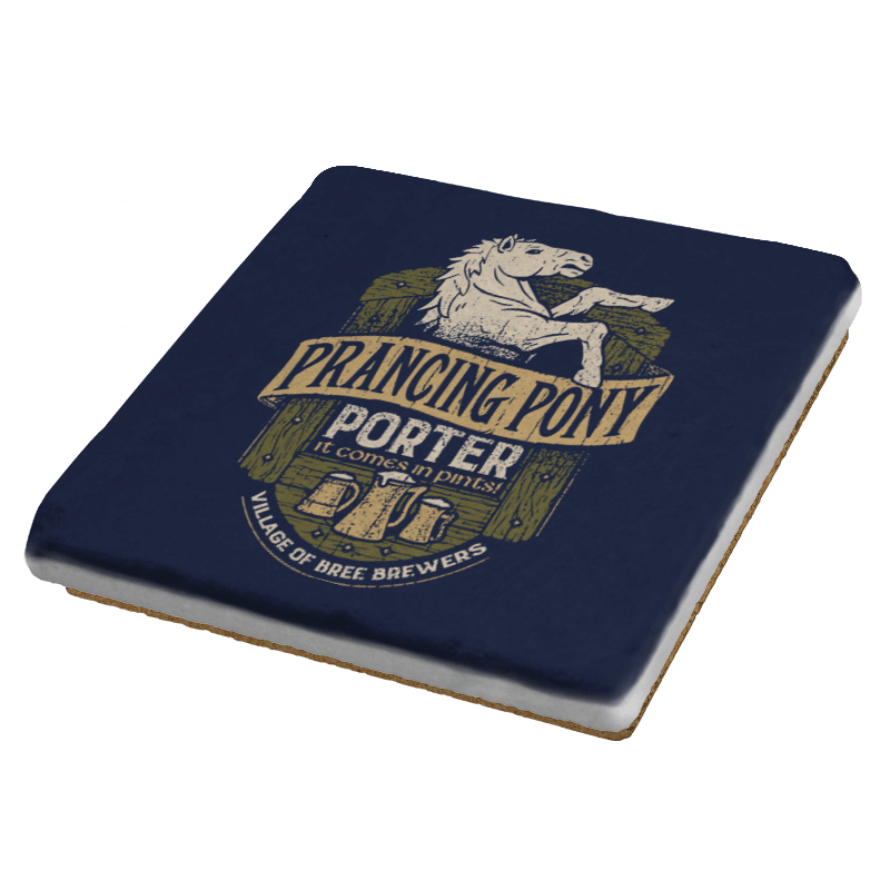 Prancing Pony Porter -Crestfest - Coasters - Coasters - RIPT Apparel