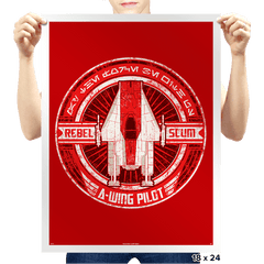 Rebel Scum A - Crestfest - Prints - Posters - RIPT Apparel
