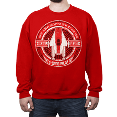 Rebel Scum A - Crestfest - Crew Neck - Crew Neck Sweatshirt - RIPT Apparel