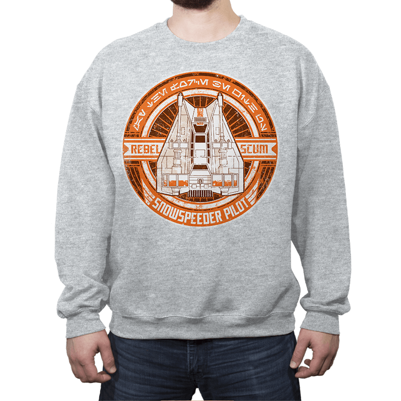 Rebel Scum Speeder - Crestfest - Crew Neck - Crew Neck Sweatshirt - RIPT Apparel