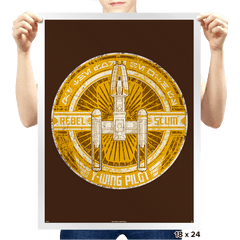 Rebel Scum Y - Crestfest - Prints - Posters - RIPT Apparel