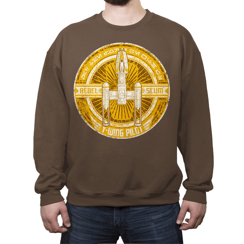 Rebel Scum Y - Crestfest - Crew Neck - Crew Neck Sweatshirt - RIPT Apparel