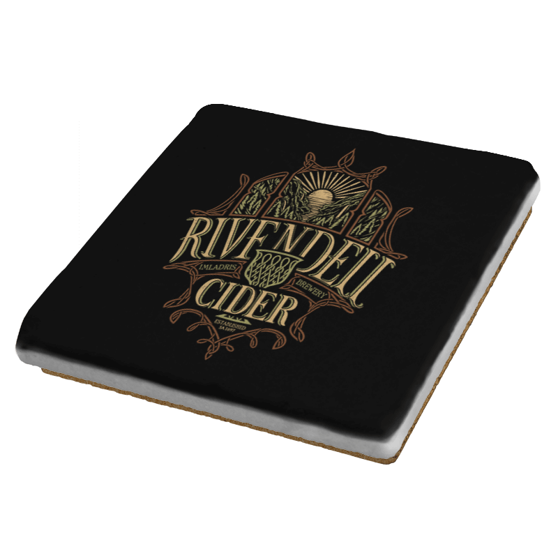 Rivendell Cider  - Crestfest - Coasters - Coasters - RIPT Apparel