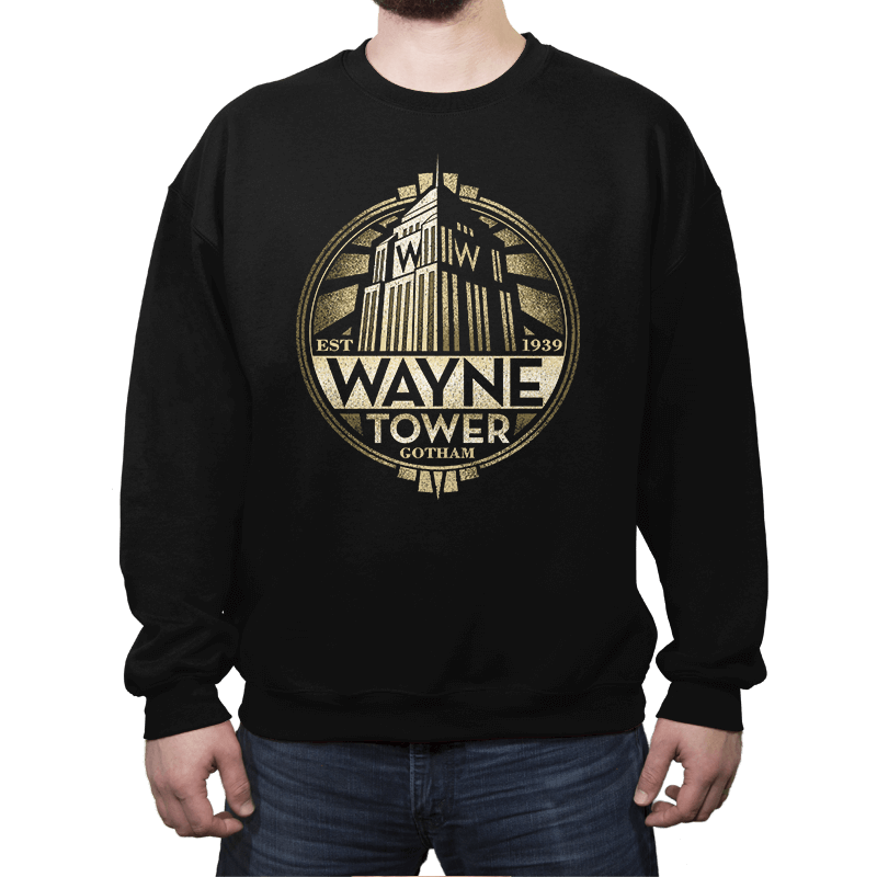 Wayne Tower - Crestfest - Crew Neck - Crew Neck Sweatshirt - RIPT Apparel