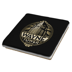 Wayne Tower - Crestfest - Coasters - Coasters - RIPT Apparel