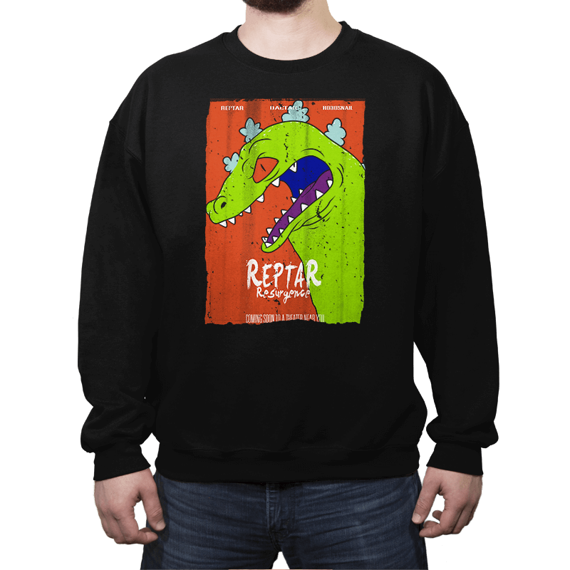 Reptar Resurgence - Crew Neck Sweatshirt - Crew Neck Sweatshirt - RIPT Apparel