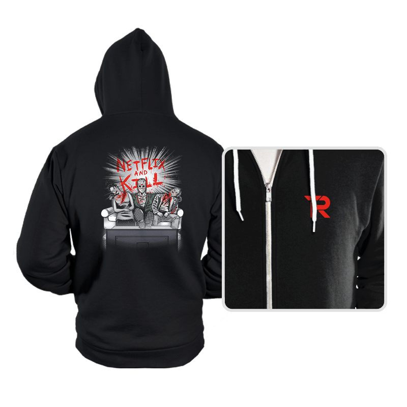 'Flix and Kill - Hoodies - Hoodies - RIPT Apparel