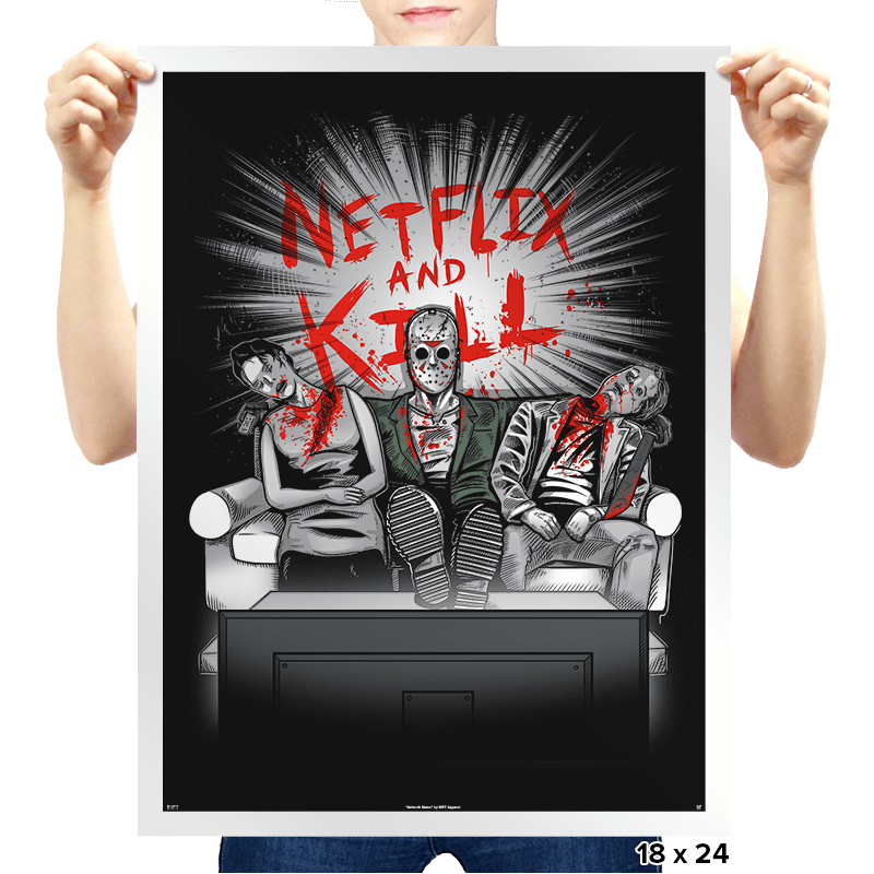 'Flix and Kill Exclusive - Prints - Posters - RIPT Apparel