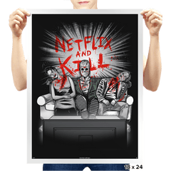 'Flix and Kill - Prints - Posters - RIPT Apparel