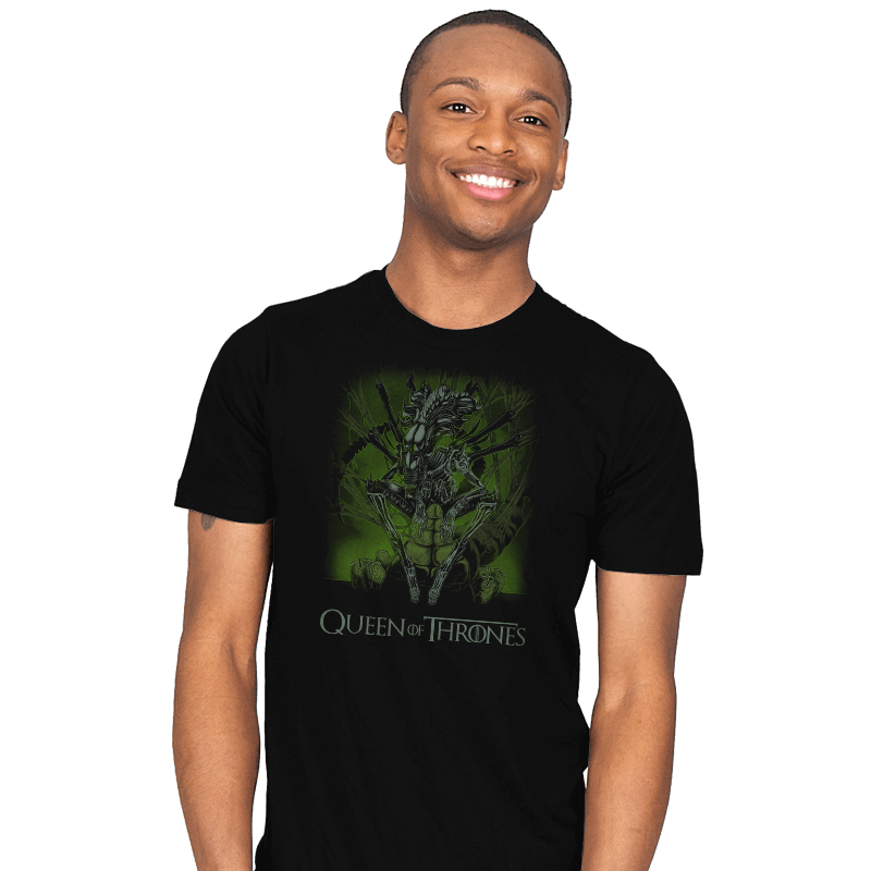 Queen of Thrones - Mens - T-Shirts - RIPT Apparel