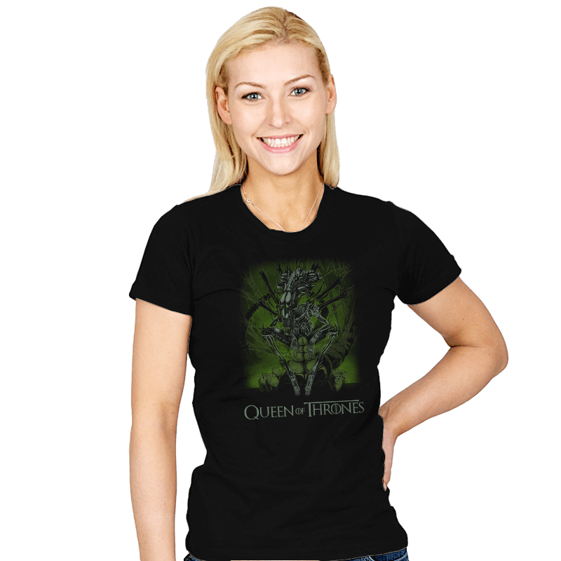 Queen of Thrones - Womens - T-Shirts - RIPT Apparel