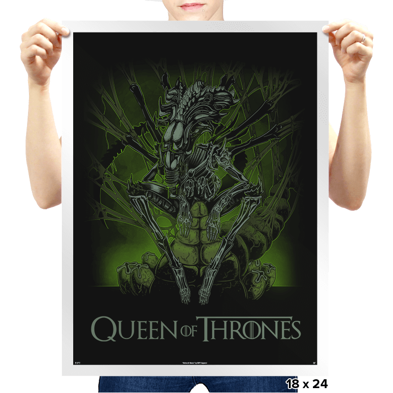 Queen of Thrones - Prints - Posters - RIPT Apparel