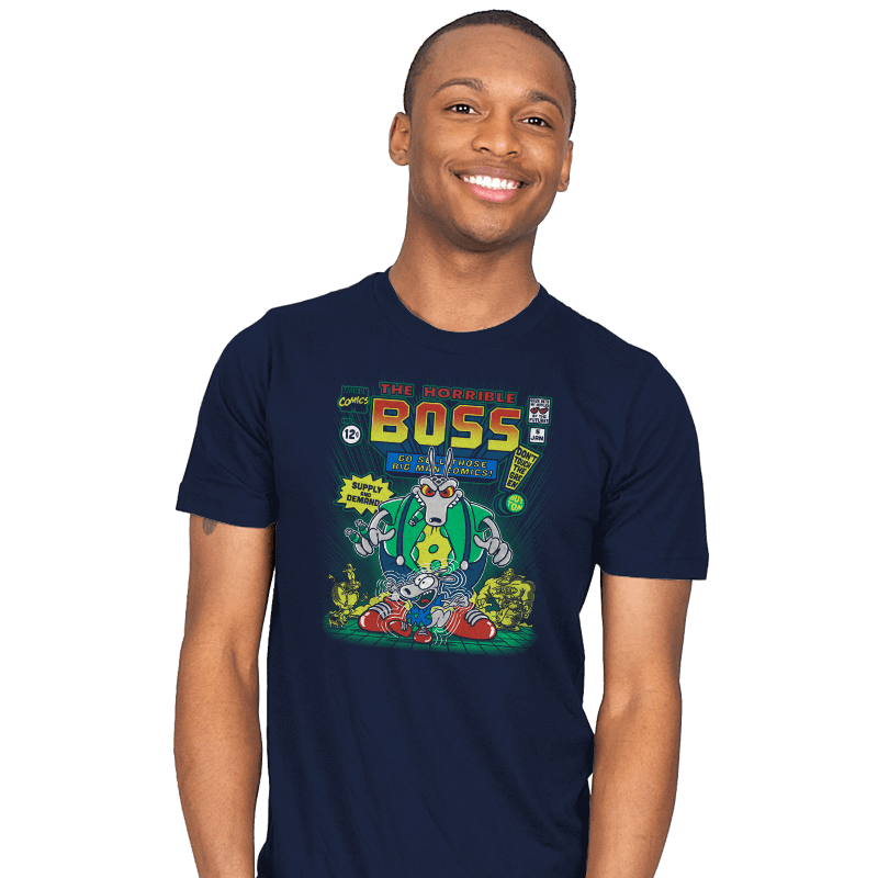 The Horrible Boss - Mens - T-Shirts - RIPT Apparel