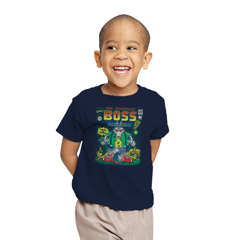 The Horrible Boss - Youth - T-Shirts - RIPT Apparel