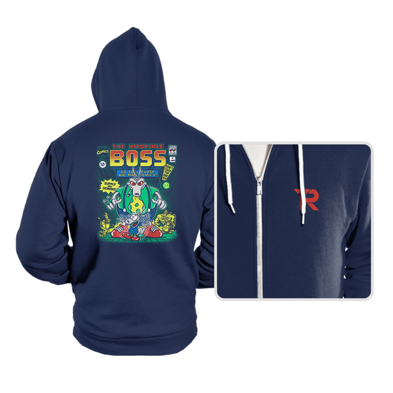 The Horrible Boss - Hoodies - Hoodies - RIPT Apparel