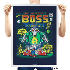 The Horrible Boss - Prints - Posters - RIPT Apparel