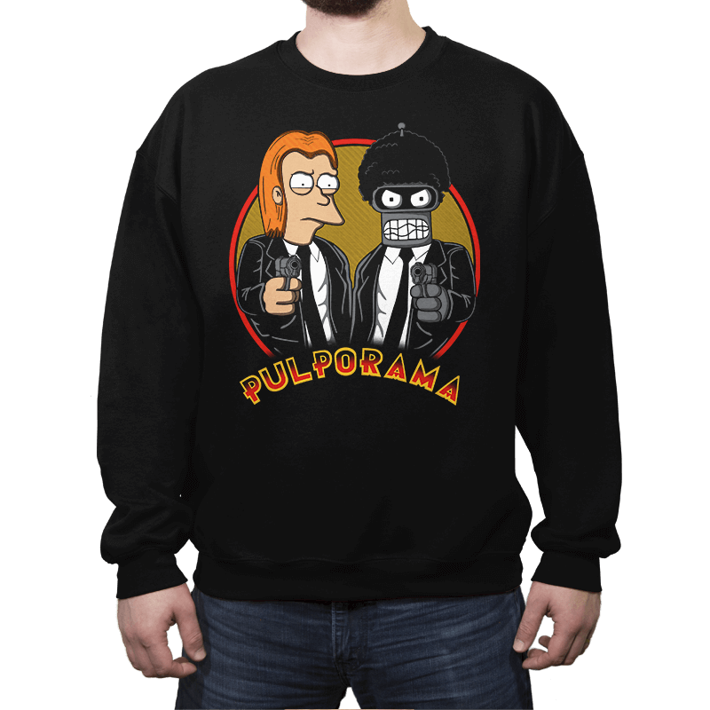 Pulporama - Crew Neck Sweatshirt - Crew Neck Sweatshirt - RIPT Apparel