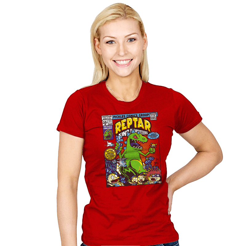 King of the Monsters - Womens - T-Shirts - RIPT Apparel