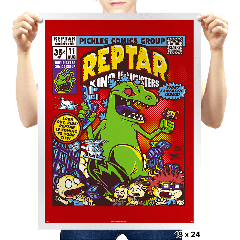 King of the Monsters - Prints - Posters - RIPT Apparel