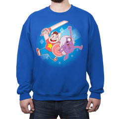 Adventure Gems - Crew Neck Sweatshirt - Crew Neck Sweatshirt - RIPT Apparel
