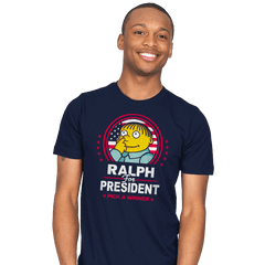 Ralph For Prez - Mens - T-Shirts - RIPT Apparel