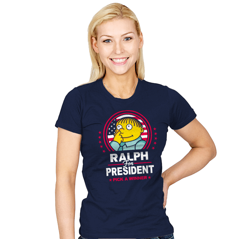 Ralph For Prez - Womens - T-Shirts - RIPT Apparel