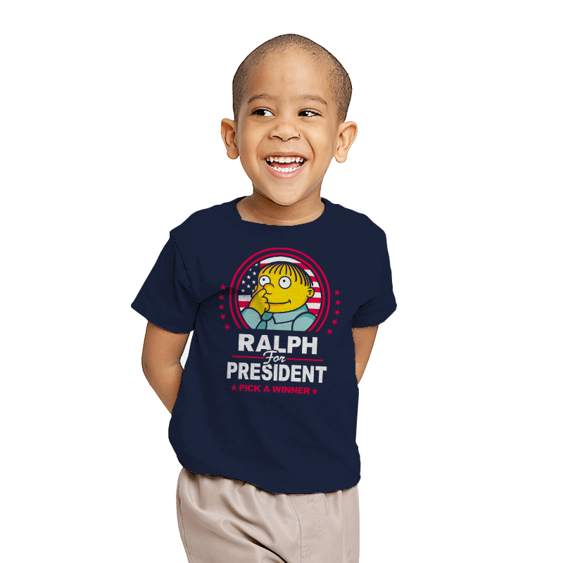 Ralph For Prez - Youth - T-Shirts - RIPT Apparel