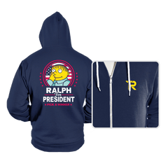 Ralph For Prez - Hoodies - Hoodies - RIPT Apparel