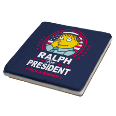 Ralph For Prez - Coasters - Coasters - RIPT Apparel