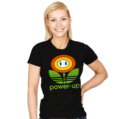 Power-up - Womens - T-Shirts - RIPT Apparel