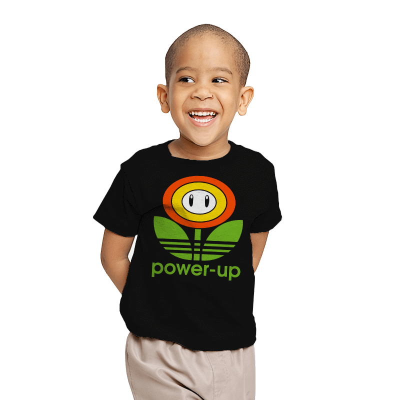 Power-up - Youth - T-Shirts - RIPT Apparel