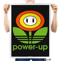Power-up - Prints - Posters - RIPT Apparel