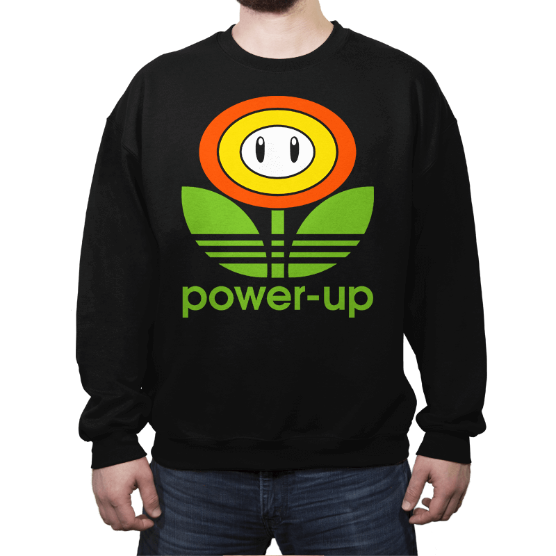 Power-up - Crew Neck Sweatshirt - Crew Neck Sweatshirt - RIPT Apparel