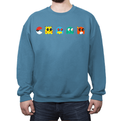 Pacmon - Crew Neck Sweatshirt - Crew Neck Sweatshirt - RIPT Apparel
